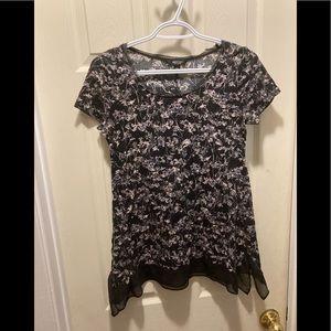 3/20$ simply Vera Vera wang long tee shirt xs